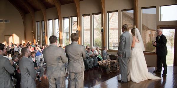 Coyote Ranch Resort wedding Fort Worth