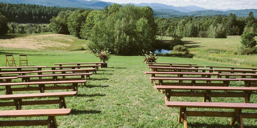 Bliss Ridge wedding Vermont