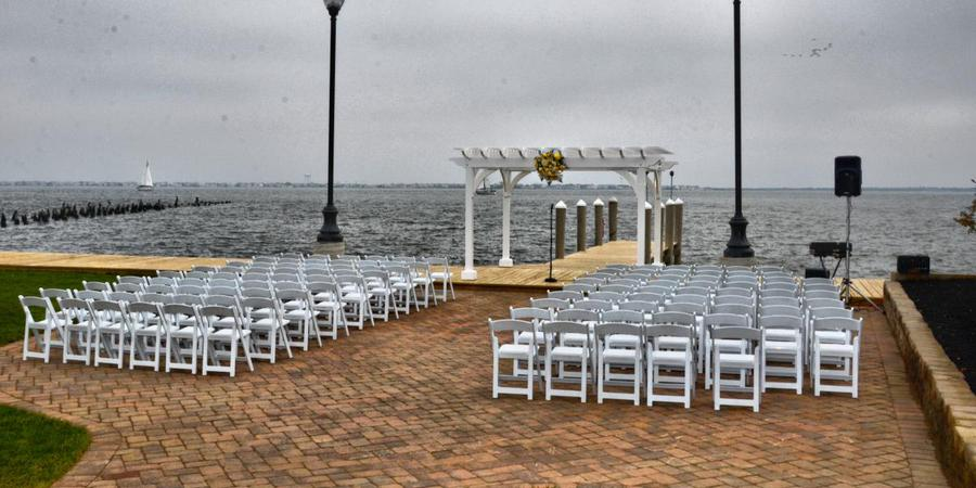 Waters Edge on the Bay wedding Jersey Shore