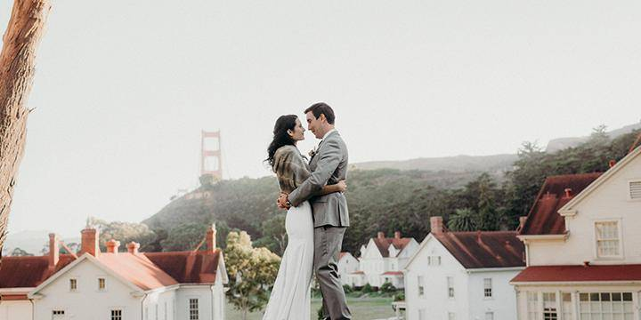 Cavallo Point wedding Marin