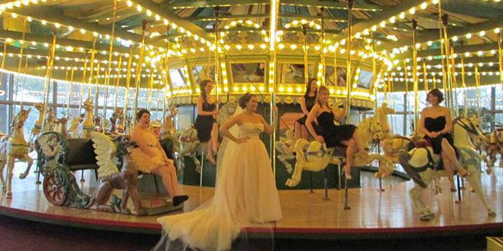 St. Louis Carousel at Faust Park wedding St. Louis
