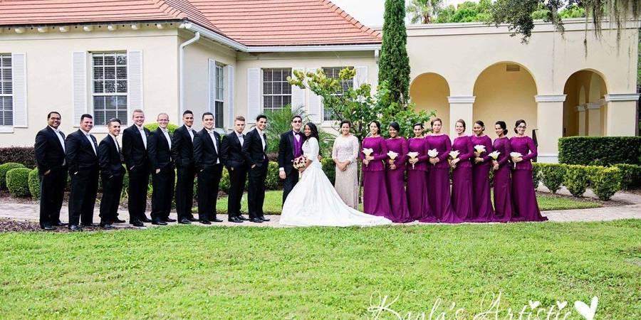 University Club of Winter Park wedding Orlando