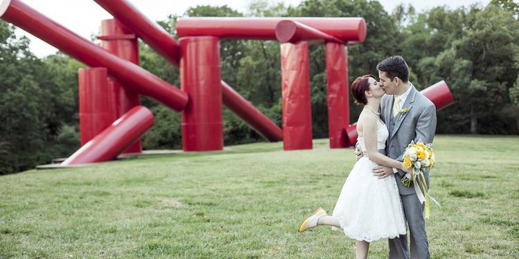 Laumeier Sculpture Park wedding St. Louis