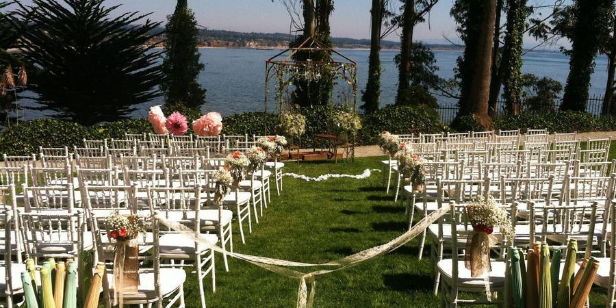 Monarch Cove Inn wedding Monterey/Carmel Valley