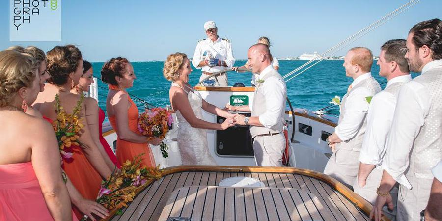 Classic Harborline: Schooner America 2.0 wedding Florida Keys
