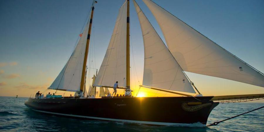Classic Harborline: Yacht Manhattan wedding Florida Keys
