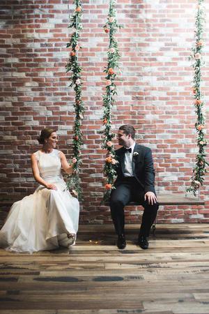 The Caramel Room at Bissinger's wedding St. Louis