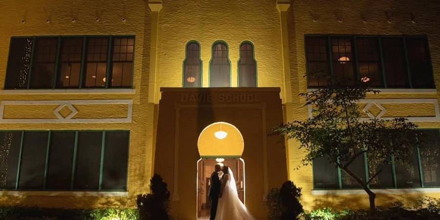 Old Davie School Historical Museum wedding Miami