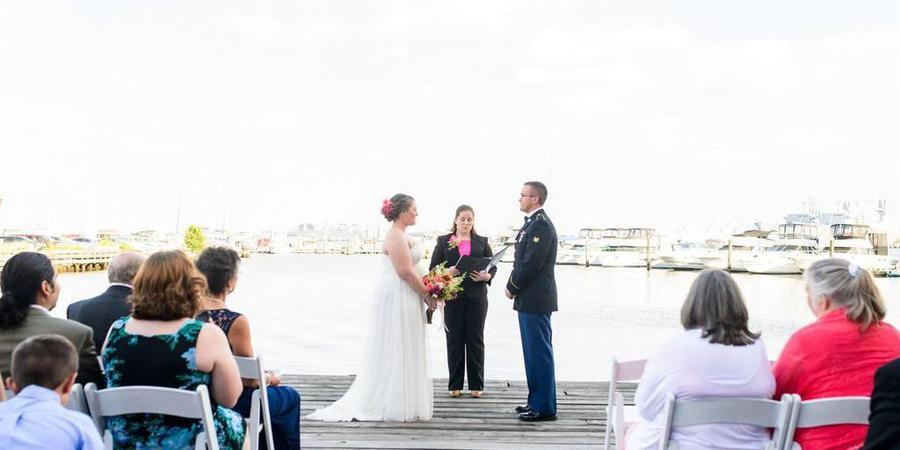 The Inn at Henderson's Wharf wedding Baltimore