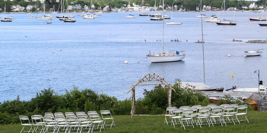 Harborfields Waterfront Vacation Cottages wedding Maine