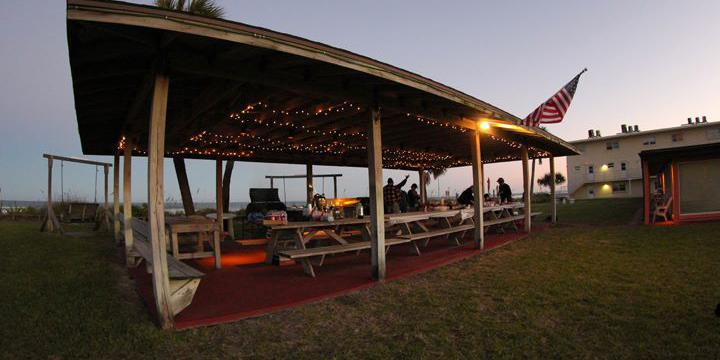Sea-Aire Motel wedding Central Florida Beaches/Coast