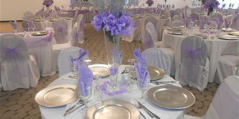 The 4 Sisters Palace Banquet Hall wedding Miami