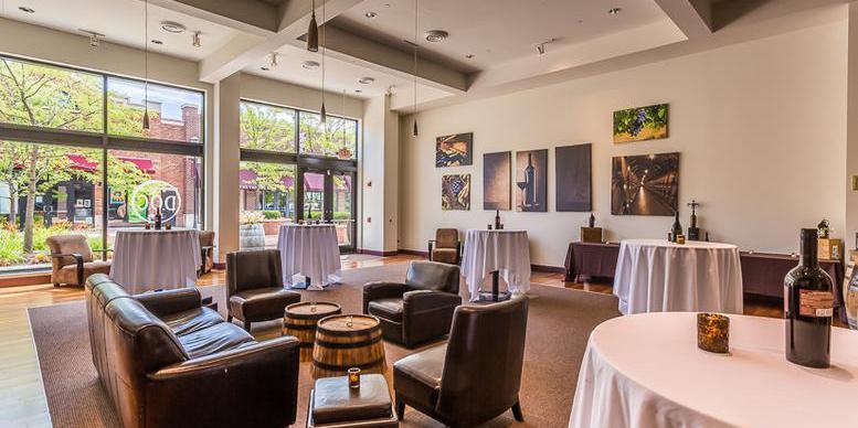 DOC Wine Bar Lombard wedding Chicago