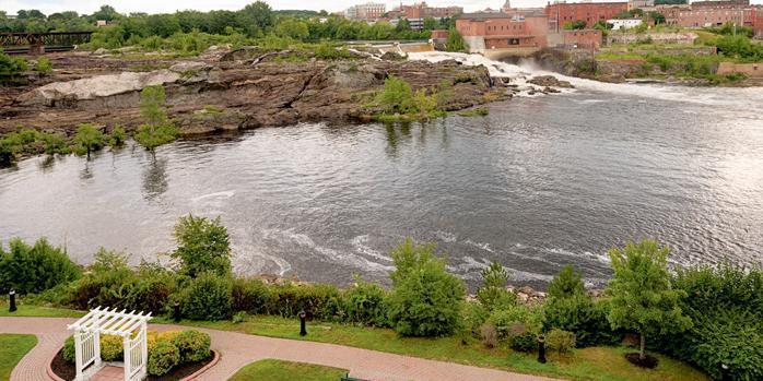 Hilton Garden Inn Auburn Riverwatch wedding Maine