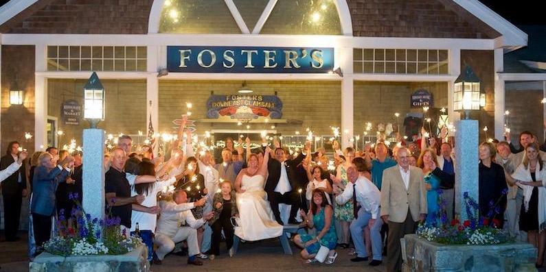 Foster's Clambakes & Catering wedding Maine