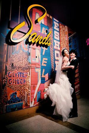 The Mob Museum wedding Las Vegas