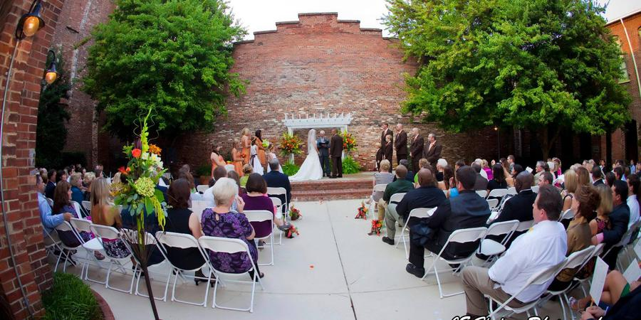 Rankin Garden & Atrium wedding Columbus