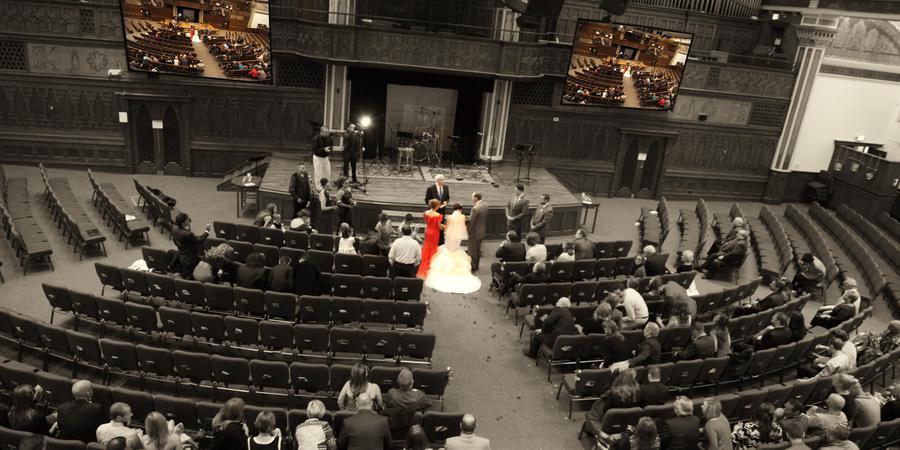 Denver Community Church - Uptown wedding Denver
