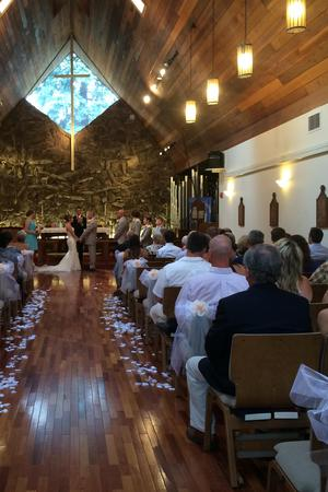 The Church of The Transfiguration wedding Denver