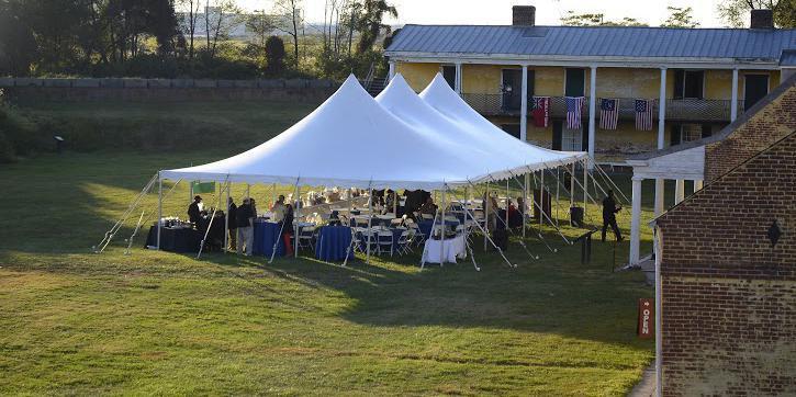 Fort Mifflin on the Delaware wedding Philadelphia