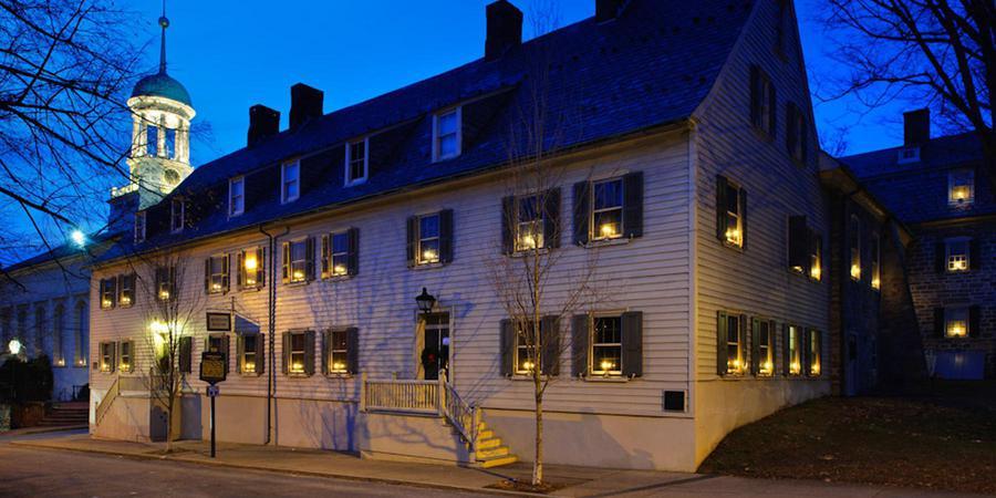 Moravian Museum wedding Philadelphia
