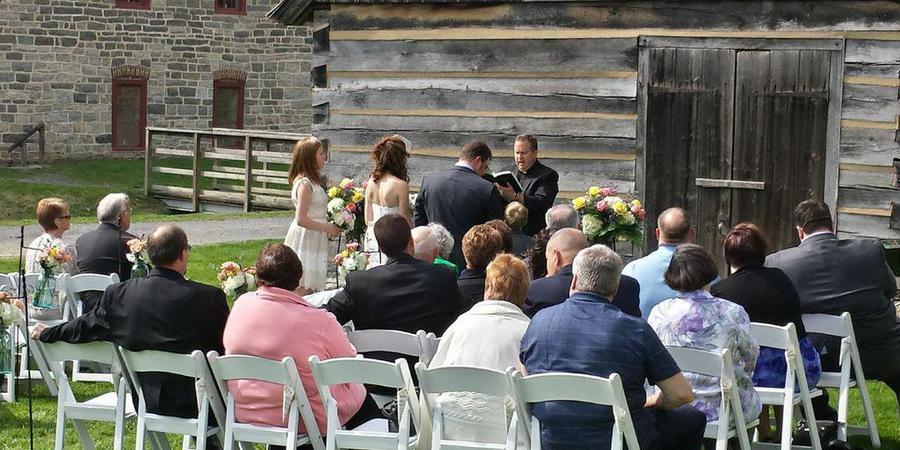 Colonial Industrial Quarter wedding Philadelphia