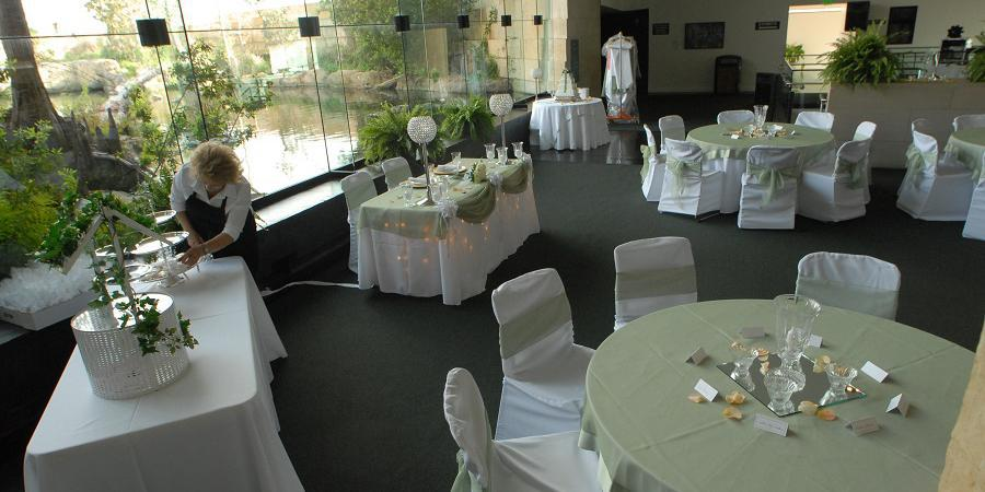 Flint RiverQuarium wedding Columbus