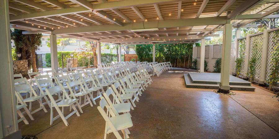 Los Gatos Lodge wedding South Bay