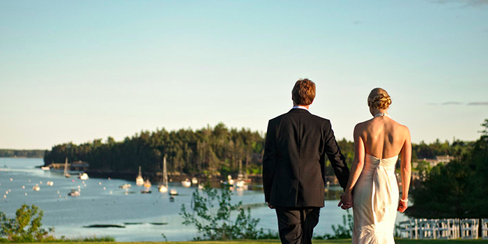 Asticou Inn & Restaurant wedding Maine