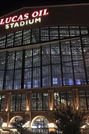 Lucas Oil Stadium wedding Indianapolis/Central Indiana