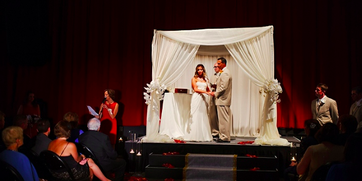 Ponte Vedra Concert Hall wedding Jacksonville