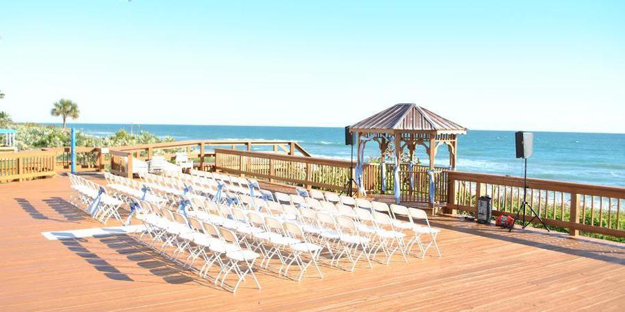 Radisson Suite Hotel Beachfront wedding Central Florida Beaches/Coast