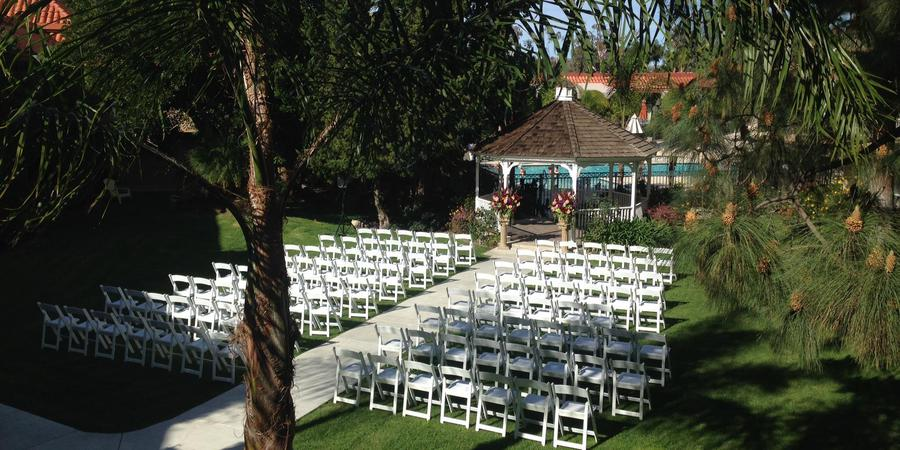 The Palm Garden Hotel wedding Santa Barbara
