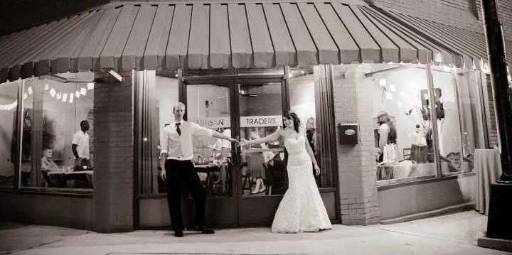 Artisan Traders wedding Greenville