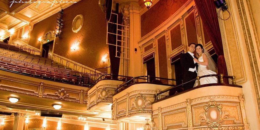 Hippodrome Theater - France-Merrick Performing Arts Center wedding Baltimore
