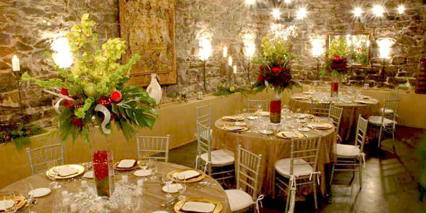 Champagne Cellar at the Winery wedding Asheville