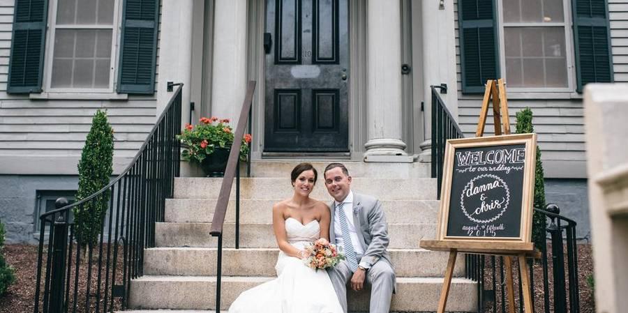 Aldrich House wedding Providence/Northern Rhode Island
