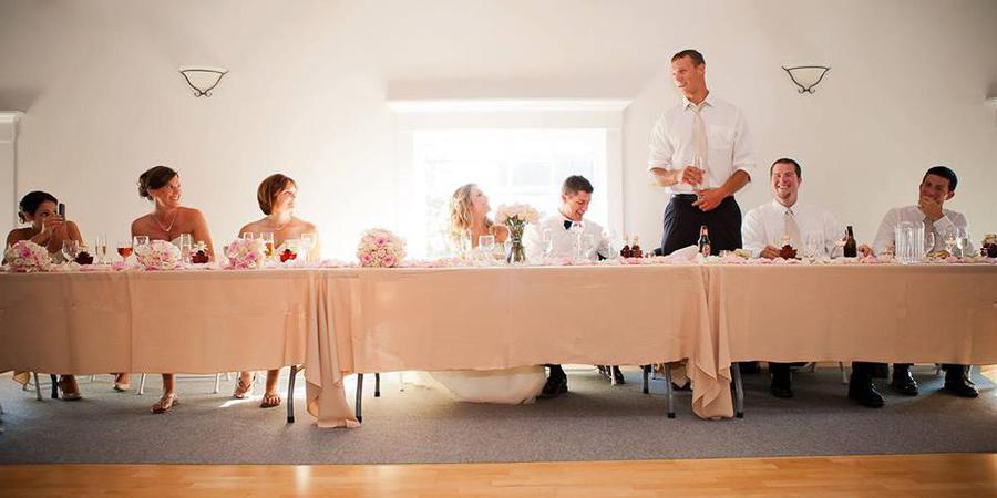 High Mountain Hall wedding Maine