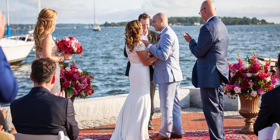 Herreshoff Marine Museum wedding Coastal Rhode Island