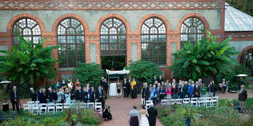 The Biltmore Estate & Gardens wedding Asheville