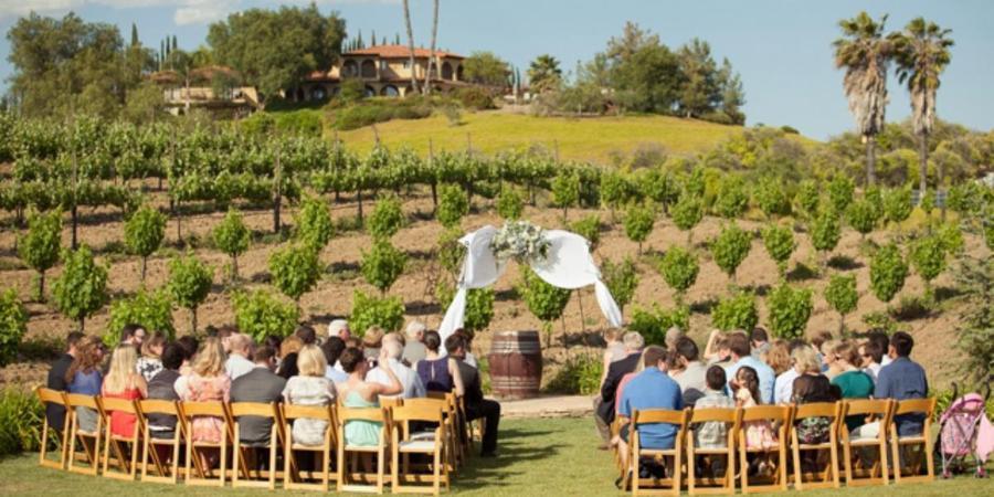 Europa Village wedding Inland Empire