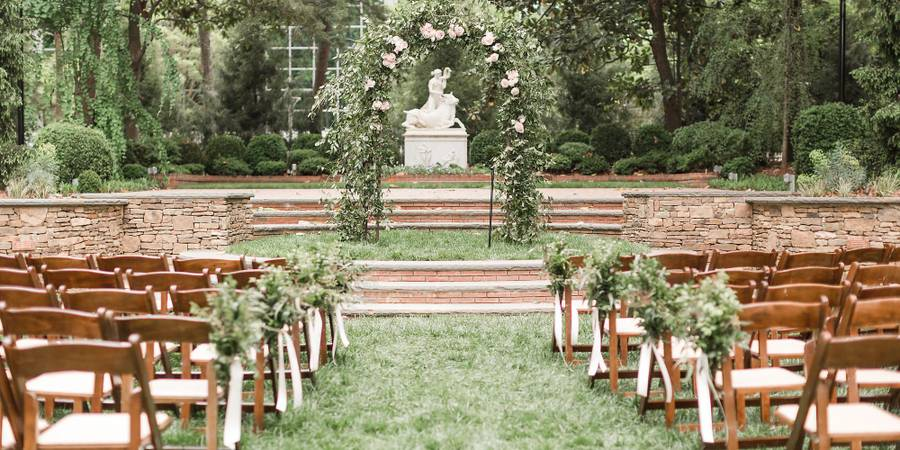 Dixon Gallery and Gardens wedding Memphis