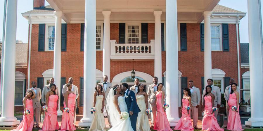 Holly Tree Country Club wedding Greenville