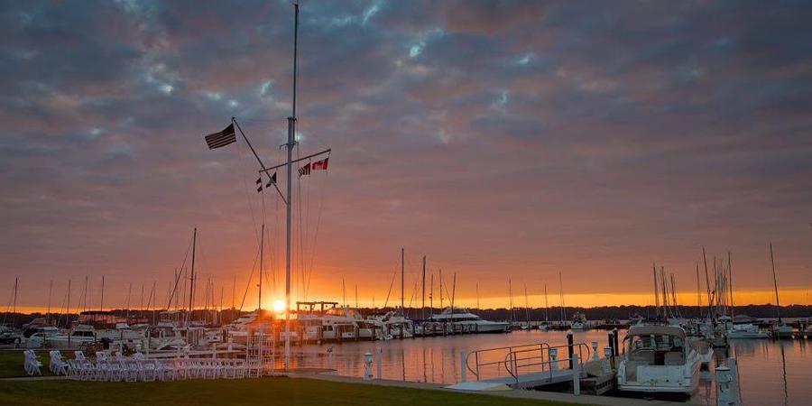 Erie Yacht Club wedding Northwest PA