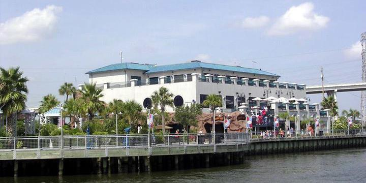 Aquarium Restaurant - Kemah wedding Houston
