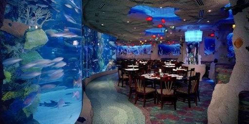 Aquarium Restaurant - Kemah wedding Houston