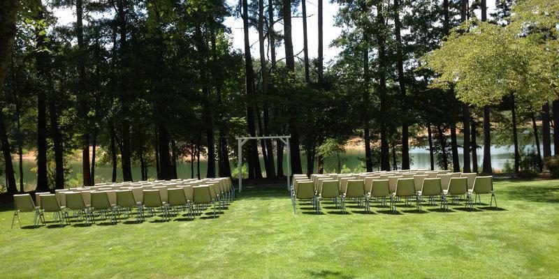 Clemson Outdoor Lab wedding Greenville