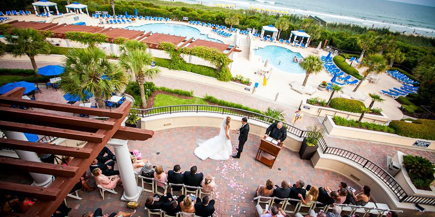 The Ocean Club at Grand Dunes wedding Myrtle Beach