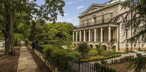 Gardens of the Hampton-Preston Mansion wedding Columbia