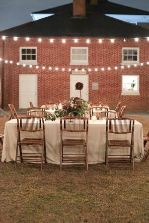 Robert Mills Carriage House and Gardens wedding Columbia